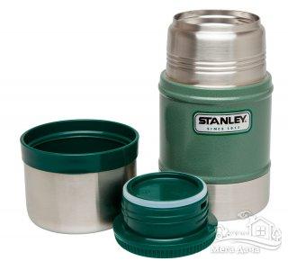 Термос для обедов зеленый 0.5L Classic Stanley (Стенли) (10-00811-010)
