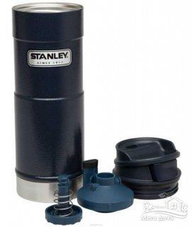 Термокружка синяя 0,47L CLASSIC ONE HAND Stanley (Стенли) (10-01394-014)