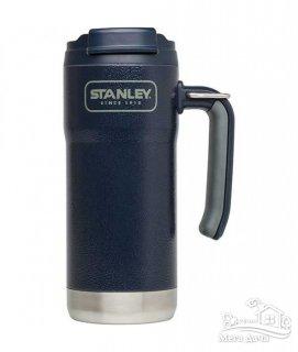 Термокружка тёмно-синяя 0,47L Adventure TRAVEL Stanley (Стенли) (10-01903-003)