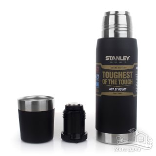 Термос STANLEY Master Vacuum Bottle 0.75L, чёрный (10-02660-002)