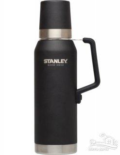 Термос STANLEY Master Vacuum Bottle 1,3L, чёрный (10-02659-002)