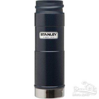 Термокружка синяя 035L CLASSIC ONE HAND Stanley  (10-01569-006)