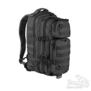 Тактический рюкзак Mil-Tec Assault S 20 л Black 14002002