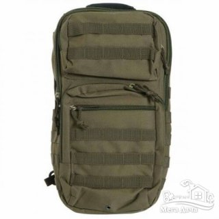 Рюкзак Mil-Tec однолямочный One Strap Assault Pack LG 40 л Olive 14059201