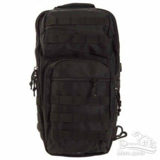 Рюкзак Mil-Tec однолямочный One Strap Assault Pack LG 40 л Black 14059202