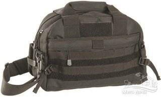 Сумка плечевая MIL-TEC AMMO SHOULDER BAG Black 13727002
