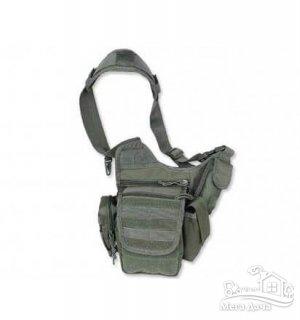 Тактическая сумка через плечо MilTec MULTIFUNCTION SLING BAG Olive 13726501