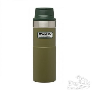 Термокружка Stanley Classic Trigger-action 0.47 л Olive Drab (06439-009)